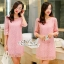 Annie dress pink lace embroidery Lady by Aris Code ุA254-654705 thumbnail 1