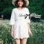 Dahong white chill out circle lace Mini dress L136-49A12 thumbnail 3