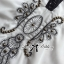 Miami Beach Embroidery Chiffon Dress thumbnail 11