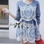 DR-LR-049 Lady Natalia Hive Embroidery Mini Dress thumbnail 13