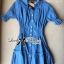 DR-LR-101 Lady Marissa Modern Country Denim Shirt Dress thumbnail 9