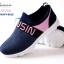 รองเท้าผ้าใบ งานน่ารัก สีสันสดใส ที่ใส่แล้ว Love thumbnail 6