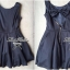 Max Mara Lady Minnie Sweet Cut Out Back Ribbon Dress thumbnail 3
