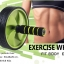 EXERCISE WHEEL ล้อเลื่อนบริหารร่างกาย หน้าท้อง แขนและช่วงลำตัว thumbnail 1