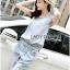 Lady Blaire Sporty Chic Embellished Zipper Denim Jumpsuit L201-85C10 thumbnail 8