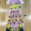 Lady Lydia Casual Feminine Butterfly Printed Set with Chiffon Maxi Outerwear L264-8501 thumbnail 18