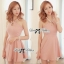 DR-LR-062 Lady Taylor Allure Elegant Pearl Mini Dress thumbnail 1