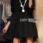 Lady Jane Feminine Asymmetric Peplum Cotton Shirt Dress L187-69C06 thumbnail 1