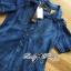 Lady Christine Embellished Washed Denim Shirt Dress L164-79C07 thumbnail 8