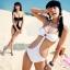 SM-V1-310 ชุดว่ายน้ำแฟชั่น คนอ้วน เด็ก ดารา thumbnail 6