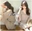 DR-LR-267 Lady Jane Classic Glam Smock Chiffon Dress in Beige thumbnail 3