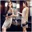 Lady Natalie Glittery Sequin Cocktail Mini Dress L220-69C02 thumbnail 5