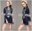 Lady Allison Chinoise Embroidered Cotton Shirt Dress L189-75E07 thumbnail 1