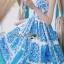 Dolce & Gabbana Italian White & Blue Printed Button-Down Dress L241-69B02 thumbnail 14