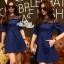 Dress denim lace shirt short race by Aris Code A222-75C02 thumbnail 1