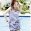 SM-V1-194 ชุดว่ายน้ำแฟชั่น คนอ้วน เด็ก ดารา thumbnail 4
