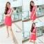 ิMartin dress เดรสสีแดงแบบเดียวกับคุนอั้มค่ะ ด้านหน้าเปนงานสกรีนลายดอก thumbnail 2