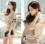 DR-LR-180 Lady Christine Sophisticated Sexy Dress in Nude thumbnail 1