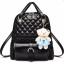 BEST RockLife 3 in 1 Women Bag Top Handle Bag Women Backpack กระเป๋าสะพายไหล่ กระเป๋าเป้สะพายหลัง -(Black) (รหัสสินค้า 2zuSh4z) thumbnail 1