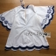 Lady Rachel Summery Classic Dark Blue and White Embroidered Dress L271-6904 thumbnail 16