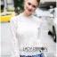 Lady Becca Smart Elegant High-Neck White Lace Blouse L254-69C02 thumbnail 7