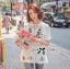 Spring Floral Vivid Embroidered Mini Dress, Korea thumbnail 12