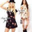 DC-PP-002 ASOS PETITE Exclusive Rosalyn Print Playsuit thumbnail 2