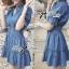 DR-LR-101 Lady Marissa Modern Country Denim Shirt Dress thumbnail 7