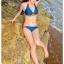 SM-V1-283 ชุดว่ายน้ำแฟชั่น คนอ้วน เด็ก ดารา thumbnail 6
