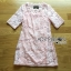 Lady Gabby Sweet Elegant Baby Pink Lace Dress L243-99C01 thumbnail 7
