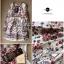 Lady Merry Blooming Print Glittery Mini dress L217-89E01 thumbnail 6
