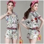 Gucci Sweet Sporty Floral Printed Jacket and Shorts Set L266-8504 thumbnail 5