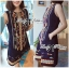 DR-LR-229 Lady Jenny Tribal Colorful Embroidered Mini Dress thumbnail 1