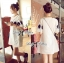 DR-LR-090 Lady Florence Vintage Chic Embroidered Mini Dress thumbnail 3
