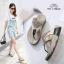 รองเท้าสุขภาพแบบใหม่เทรนด์เกาหลีพื้นสุขภาพคีบเพชร thumbnail 4