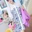 DR-LR-242 Lady Lara Summer Floral Print Shirt Dress thumbnail 3