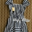 DR-LR-223 Lady Jenny '50s Style Mixed Striped Dress thumbnail 12