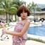 SM-V1-301 ชุดว่ายน้ำแฟชั่น คนอ้วน เด็ก ดารา thumbnail 3