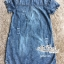 Korean denim embroidered Vintage dress by Aris Code thumbnail 10
