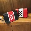 TK3038 กระเป๋าBox รูปเชือกไขว้ ด้านหน้า