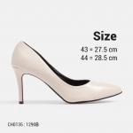 รองเท้าคัชชูส้นเตี้ย ไซส์ใหญ่ Sky High ไซส์ 42-44 EU จากแบรนด์ Chowy รุ่น CH0135