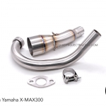 คอท่อสแตนเลส 2in1 for Yamaha X-MAX 300