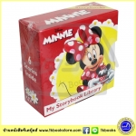 Mini Board books Set : Disney Minnie My Little Storybook Library มินิบอร์ดบุ๊คส์ 6 เล่ม