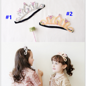 HB099••ที่คาดผมเด็ก•• Crown (มี 2 สี)