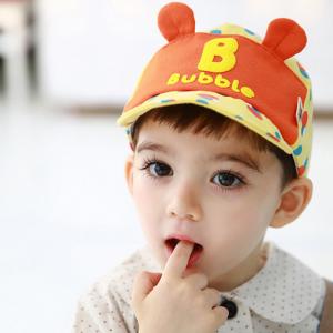 HT364••หมวกเด็ก•• / หมวกแก็ป Bubble (ปีกสีเหลือง)