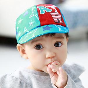 HT369••หมวกเด็ก•• / หมวกแก็ป STAR (สีฟ้า)