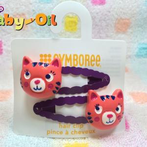 HP007••กิ๊บติดผมเด็ก•• / แมวเหมียว (Gymboree)