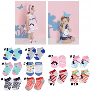 SK093••ถุงเท้าเด็ก•• allo&lugh มี 10 ลาย (ข้อสั้น)