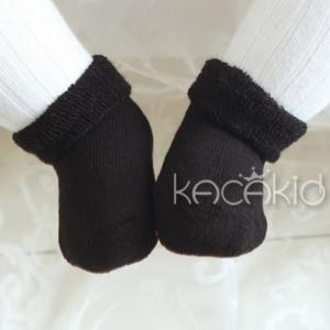 SK082••ถุงเท้าเด็ก•• ปอมดำ (ข้อสั้น-เลยตาตุ่ม)