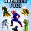 DK Ultimate Amazing Sticker Book : Marvel : Avengers : 50 Reusable เซตหนังสือสติกเกอร์ อเวนเจอร์ 4 เล่ม thumbnail 3